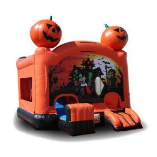 EZ Inflatables Halloween Combo Bounce House   Commercial Inflatables