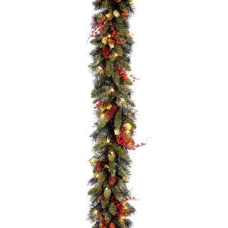 9 ft. Classical Collection Pre lit Garland   Swags & Garland