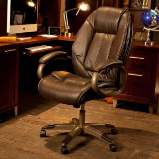 Executive Glove Soft Leather Chair   Desk Chairs