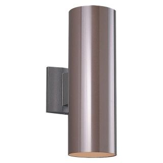 Sea Gull Outdoor Wall Cylinder   18H in. Bronze   Outdoor Wall Lights