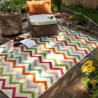 Mohawk Home Herringbone Indoor / Outdoor Rug   Area Rugs