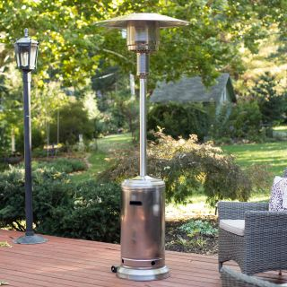 Fire Sense Stainless Steel Patio Heater   Patio Heaters