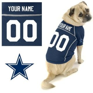 Hunter Dallas Cowboys Custom Pet Jersey