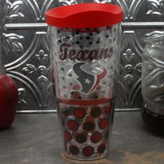 Tervis Tumbler Houston Texans 24oz. Polka Dot Wrap Tumbler Pro with Lid