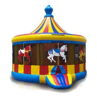 EZ Inflatables Carousel Jumper Bounce House   Commercial Inflatables