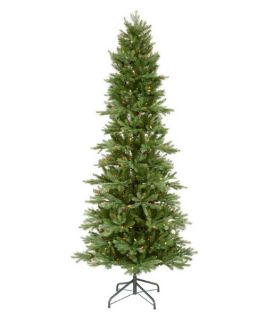 Tustin Slim Fraiser Pre lit Christmas Tree   Artificial Christmas Trees