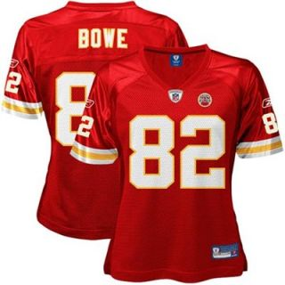 Reebok Dwayne Bowe Kansas City Chiefs Ladies Replica Jersey   Red