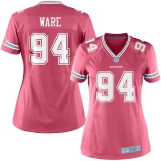 DeMarcus Ware Dallas Cowboys Ladies Game Jersey   Pink
