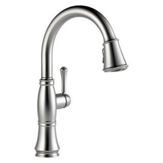 Delta Cassidy 9197 Single Handle Pull Down Kitchen Faucet   Kitchen Faucets