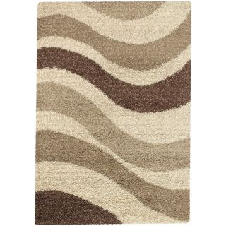 Couristan Visionnaire Enigma Multi/Brown Area Rug   Area Rugs