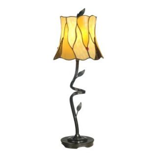 Dale Tiffany Twisted Leaf Tiffany Buffet Lamp   Tiffany Table Lamps