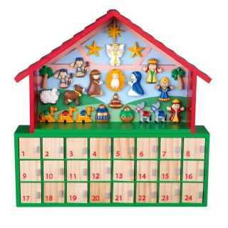 KidKraft Children's Wooden Advent Calendar   Toys and Playsets