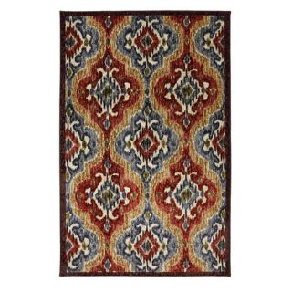 Mohawk New Wave Primary Ikat Primary Rug   Area Rugs