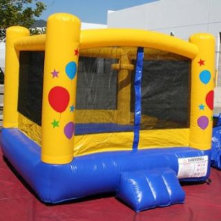 EZ Inflatables Happy Birthday Bounce House   Bounce Houses
