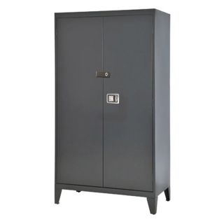 Edsal 46 in. Extra Heavy Duty Steel Storage Cabinet   Cabinets
