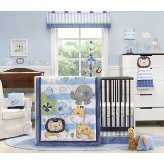 Kids Line Jungle Doodle 4 Piece Crib Set   Baby Bedding Sets