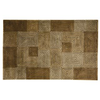 Capel Rugs Chatham Collection Wool Hearth Rug Brass   Hearth Rugs