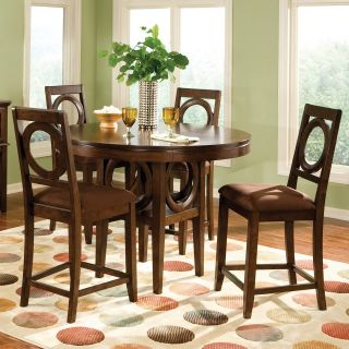 Standard Furniture Coterno 5 Piece Counter Height Dining Table Set   Dining Table Sets