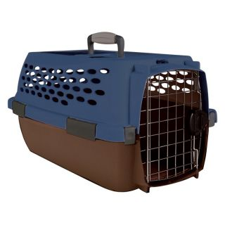 Kennel Cab Fashion   Blue/Brown   Small   Dog Carriers