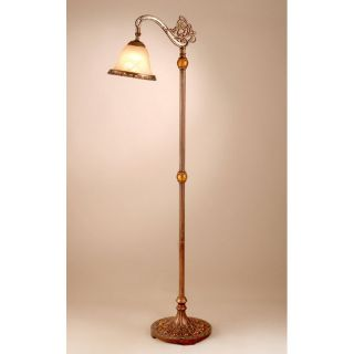 Dale Tiffany TF101088 Lowther Downbridge Floor Lamp   Tiffany Floor Lamps