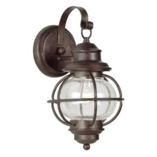 Kenroy Home Hatteras Outdoor Wall Lantern   14H in. Gilded Copper   Outdoor Wall Lights