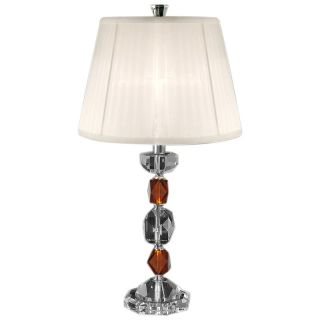 Dale Tiffany Boris Crystal Table Lamp   GT80240   Table Lamps