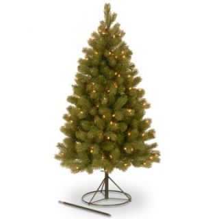 4 ft. Feel Real Down swept Pre Lit 3 in 1 Christmas Tree   Clear Lights   Christmas Trees