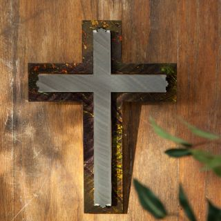Cross   Brook Indoor / Outdoor Light Reflective Wall Art   Outdoor Wall Art
