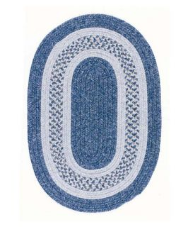 Colonial Mills Jefferson Indoor/Outdoor Braided Area Rug   Blue Ribbon   Braided Rugs