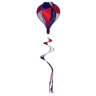 In the Breeze Patriot Hot Air Balloon Wind Spinner   Wind Spinners