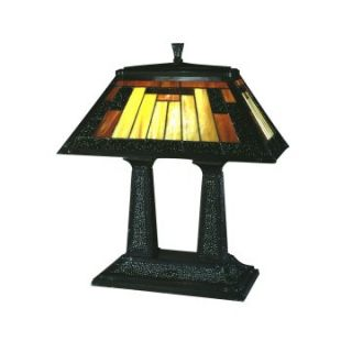 Dale Tiffany Post Mission Table Lamp   Tiffany Table Lamps
