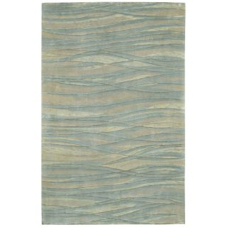 Surya Shibui SH 7406 Interwoven Area Rug   Blue/Grey   Area Rugs