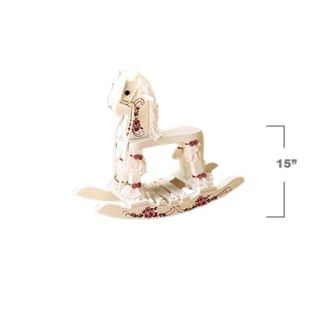 Teamson Design Jenny the Wooden Rocking Horse   Rocking Toys