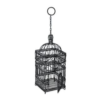Victorian Decorative Hanging Bird Cage   Bird Feeders