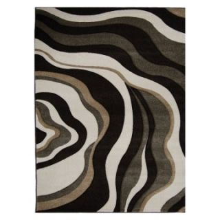 Home Dynamix 8562C Sumatra Area Rug   Dark Brown   Area Rugs