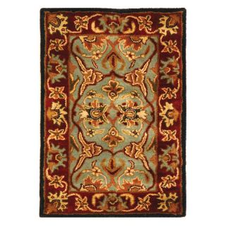 Safavieh Heritage HG794A Area Rug   Light Blue/Red   Area Rugs