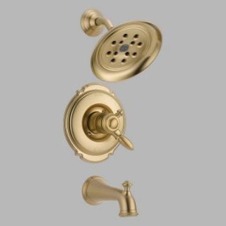 Delta Victorian T17455 H2O Monitor 17 Series Wall Mount Tub and Shower Trim Set   Bathtub Faucets