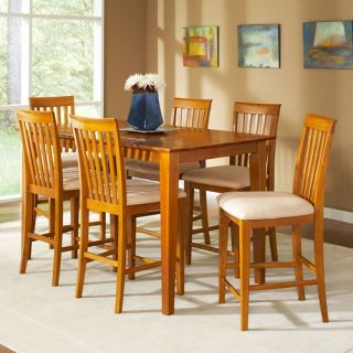 Shaker 7 Piece Pub Table Set   Dining Table Sets