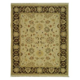Safavieh Sumak SUM411B Area Rug   Ivory/Brown   Area Rugs
