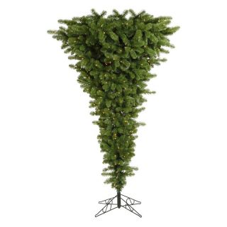Vickerman Green Upside Down Clear Pre lit Christmas Tree   Christmas Trees
