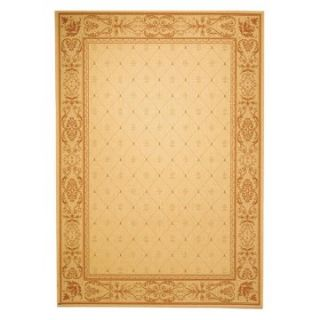 Safavieh Courtyard 2326 Indoor/Outdoor Area Rug   Gold   Area Rugs