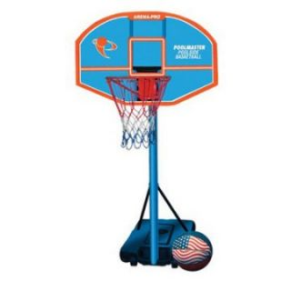 Poolmaster Arena Pro Composite Adjustable Basketball Game   Specialty Hoops