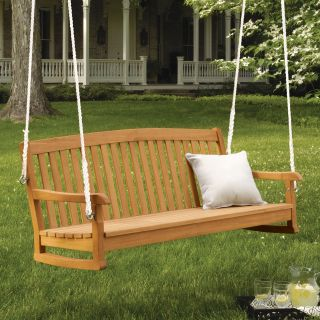 Oxford Garden 5 ft. Chadwick Wood Porch Swing   Porch Swings