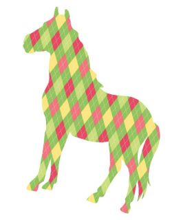 Addison The Horse ZooWallogy Wall Art Kit   Wall Decals