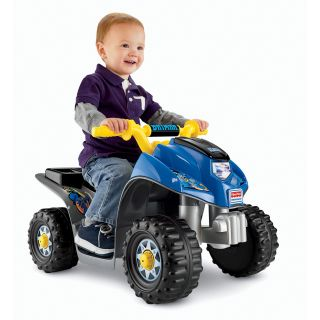 Fisher Price Power Wheels Batman Lil Quad Battery Powered Riding Toy   Battery Powered Riding Toys