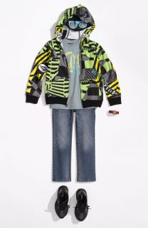 Volcom Mask Hoodie, T Shirt & Jeans (Little Boys)