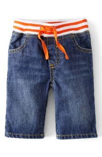 Mini Boden Straight Leg Jeans (Baby Boys)