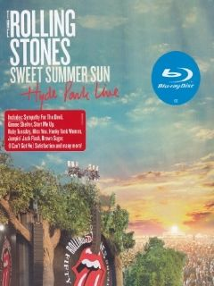 Rolling Stones   Sweet Summer Sun/Hyde Park Live Blu ray THE ROLLING STONES DVD & Blu ray