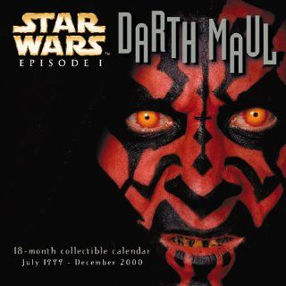 Star Wars Episode I Darth Maul 18 Month Collectible Calendar July 1999 December 2000 Golden Turtle Englische Bücher