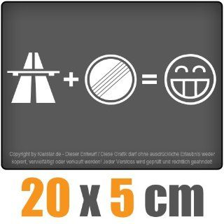 Autobahn Freak 20 x 5 cm JDM Decal Sticker Aufkleber Racing Die Cut Auto